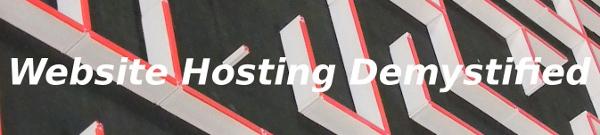 website hosting demystified